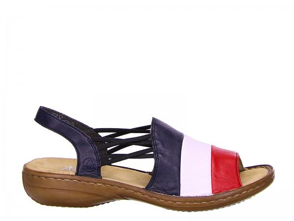 Rieker Sandaletten blau | Rieker Onlineshop 1d01V